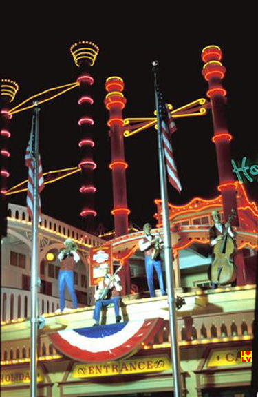 Holiday Inn Hotel and Casino Las Vegas Strip in 1980