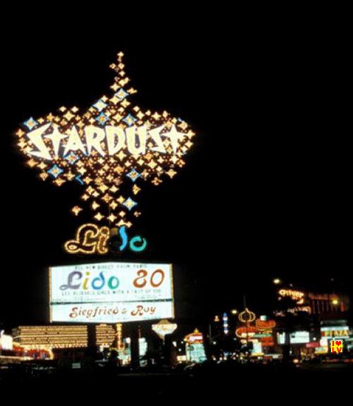 Sign Stardust Casino Las Vegas, 1968