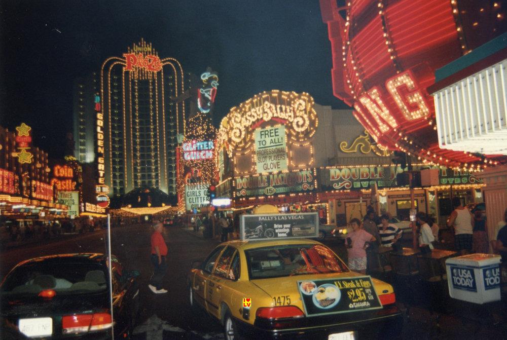 Downtown Las Vegas 1994